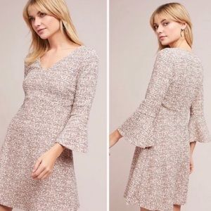 Anthropologie Susie Tweed Swing Dress-b7